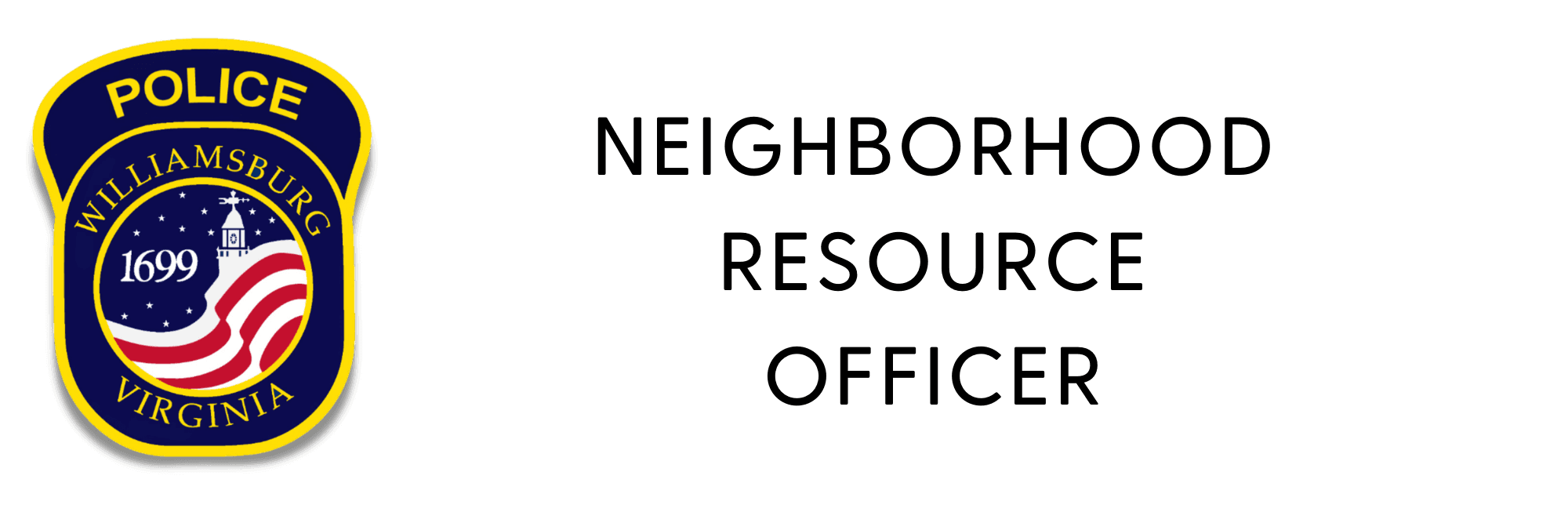 Neighborhood Resource Officer