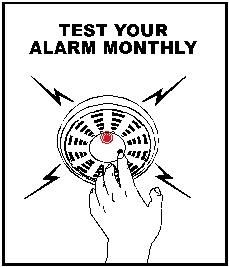 Test Your Alarm Monthly